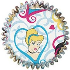 Disney Princess standard Muffin Baking Cups 50 piece