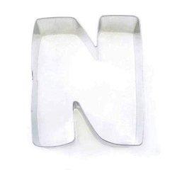 N Alphabet Letter Cookie Cutter 3 inch