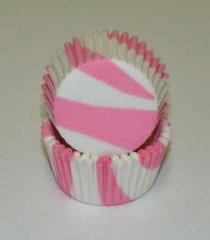 Pink Zebra standard Muffin Baking Cups 50 piece