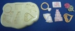 Wedding Accessories Silicone Push Mold