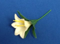 Easter Lily Novelty Topper Each