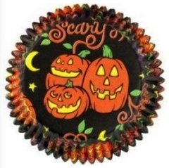 Pumpkin Boo Scary Standard Muffin Baking Cups 75 piece