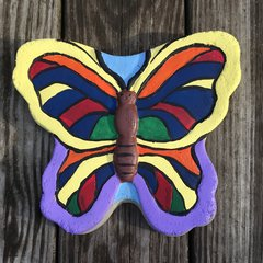 Butterfly Concrete Stepping Stone