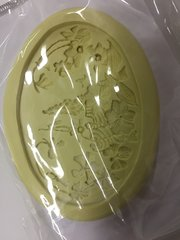 Spring Scene Large Oval Silicone Push Mold
