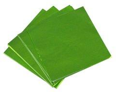Chartreuse 5x5 Candy Foil Squares 125 piece