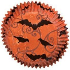 Haunted Manor Halloween Standard Muffin Baking Cups 75 piece