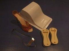 High Heel Stiletto Shoe Gumpaste Fondant Cutter Set