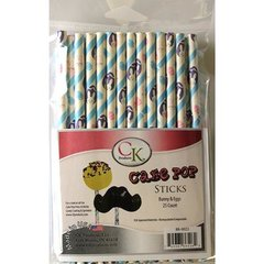 Bunny & Eggs Cake Pop Sticks 6 inch 25 piece