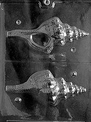 Conch Shell 3D Chocolate Craft Candy Mold