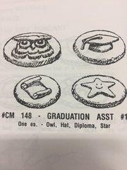Graduation Assortment Mint Mold