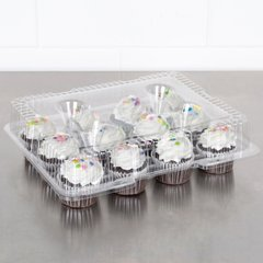 Cupcake Muffin Container 12 Cavity