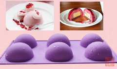 Round 3D Silicone Baking Mold Pan