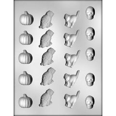 Halloween 20 Cavity Chocolate Craft Candy Mold