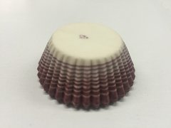 Burgundy Stripe Petit Four Baking Cups 200 piece