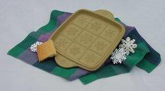 Snowflakes Shortbread Pan