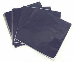 Black 5x5 Candy Foil Squares 125 piece