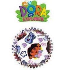 Dora the Explorer Standard Muffin Baking Cups 50 Piece