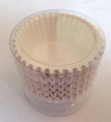 White Mini Baking Cups 100 piece