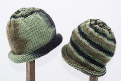 Child Adult Hat Rolled Brim Beanie Color: RENEGADE