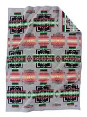 Pendleton Chief Joseph Muchacho Crib Blanket, Charcoal