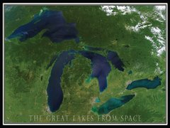 Heritage Puzzles The Great Lakes from Space