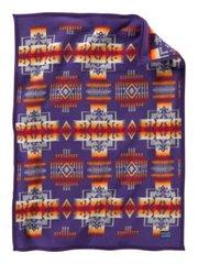 Pendleton Chief Joseph Muchacho Crib Blanket, Purple