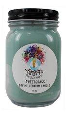 Spirit Earth Holistics 16oz. Eco Soy Plant Based Candle - Sweet Grass
