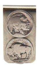 Sterling Silver Buffalo Nickel Money Clip