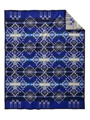 Pendleton Blanket Robe, Star Wheels