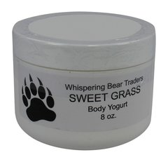 8oz Sweetgrass Body Yogurt