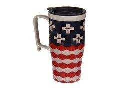 Pendleton Ceramic Travel Mug: Bravestar
