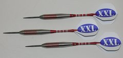 XXL 40 gram Steel Tip Darts - 80% Tungsten, Extra Heavy Darts - Add Extra Ummmmph to your game
