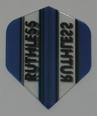 3 Sets (9 flights) Ruthless Mini BLUE Flights - 1963