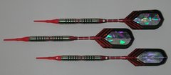 VIPER 18 gram Soft Tip Darts - Contoured Grip 90% Tungsten - Convertible - Steel/Soft Tip Darts NV7-18