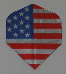 3 Sets (9 flights) Ameithon US, USA, AMERICAN FLAG Standard Dart Flights - 020x