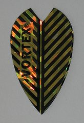 3 Sets (9 flights) Vortex Full Size GOLD Flights -9009