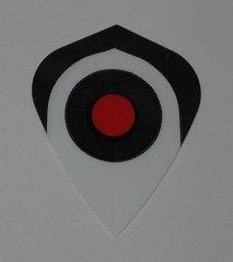 3 Set (9 flights) BULLS EYE Kite Hard Dart Flights mk10