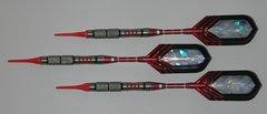 VIPER 16 gram Soft Tip Darts - Contoured Grip 90% Tungsten - Convertible - Steel/Soft Tip Darts NV2-16