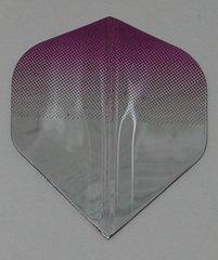 3 Sets (9 flights) Ameithon PURPLE/SILVER Fade Standard Dart Flights - 037x