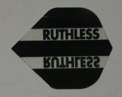 3 Sets (9 flights) Ruthless BLACK Standard Flights - 1712