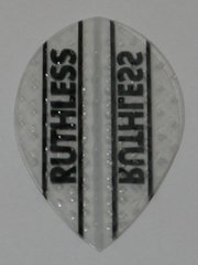 3 Sets (9 flights) Ruthless Embossed (Dimplex Style) Pear CLEAR Flights - 4334