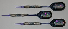 PREDATOR 16 gram Soft Tip Darts - Style Q1 - 2BA (3/16th inch) Tips and Shafts