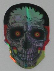 3 Sets (9 flights) GERMAN GERMANY Skull Shape Holographic Flights - 6955