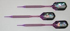 P4 Purpleline 16 gram Tungsten Soft Tip Darts - Knurled Grip - HO6-PUR-16