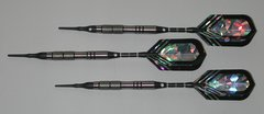 VIPER 16 gram Soft Tip Darts - Contoured Grip 90% Tungsten - Convertible - Steel/Soft Tip Darts NV3-16
