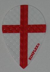 3 Sets (9 flights) Dimplex Pear ST GEORGE'S FLAG Flights - 495P