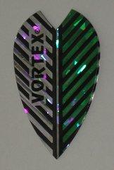 3 Sets (9 flights) Vortex Full Size SILVER/GREEN Flights -9012