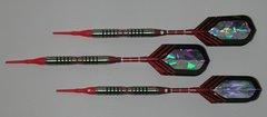 VIPER 16 gram Soft Tip Darts - Contoured Grip 90% Tungsten - Convertible - Steel/Soft Tip Darts NV7-16