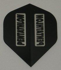 3 Sets (9 flights) BLACK Slim PENTATHLON Flights - 2202