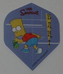 2 Set (6 flights) Simpsons Bart Homer Duff Standard Dart Flights - Simp06
